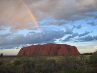 Rainbow-over-Uluru